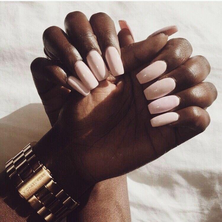 Melaesthetic Eccentric Melanin Nails Shiny Nails Designs Nail Colors Trendy Nails