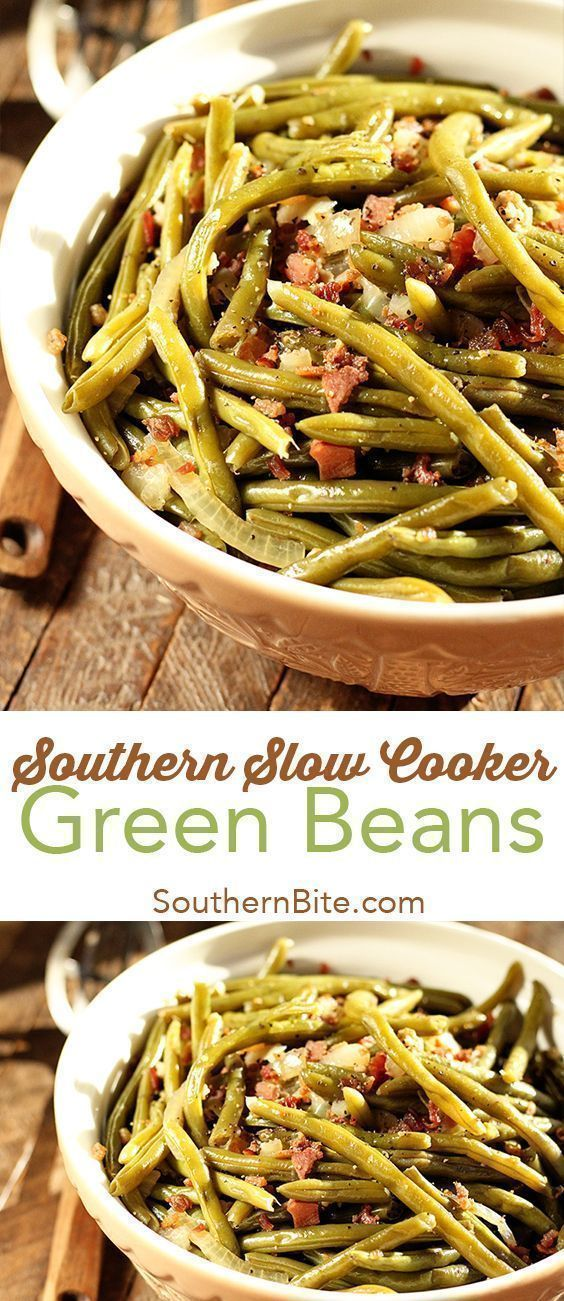 Photo of Southern Slow Cooker Green Beans