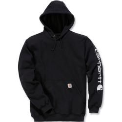 Photo of Carhartt Midweight Sleeve Logo Hoodie Schwarz Xl Carhartt