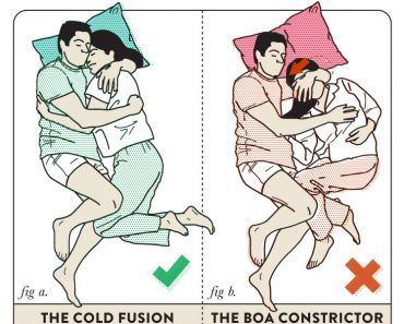 Sleeping Positions For Couples Best Worst