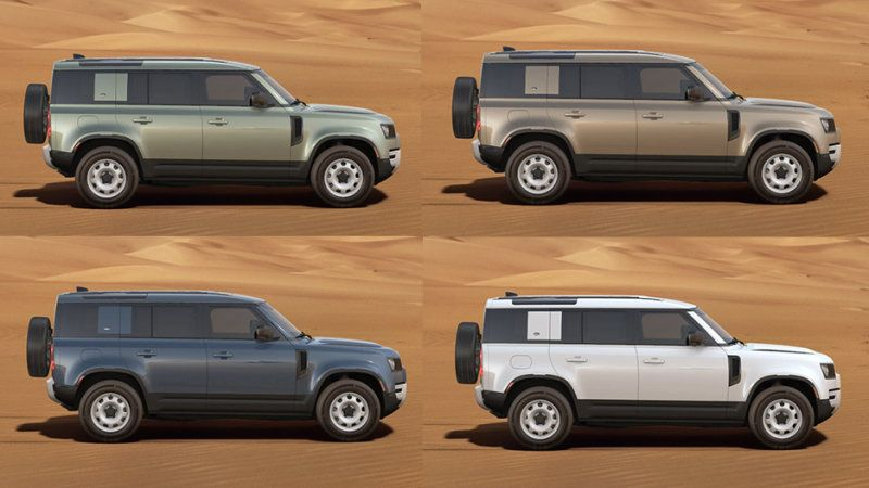 2020 Land Rover Defender Colors And Accessories Revealed Land