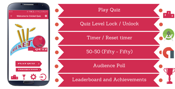 Offline Quiz | Design Art | Sports quiz, Android studio