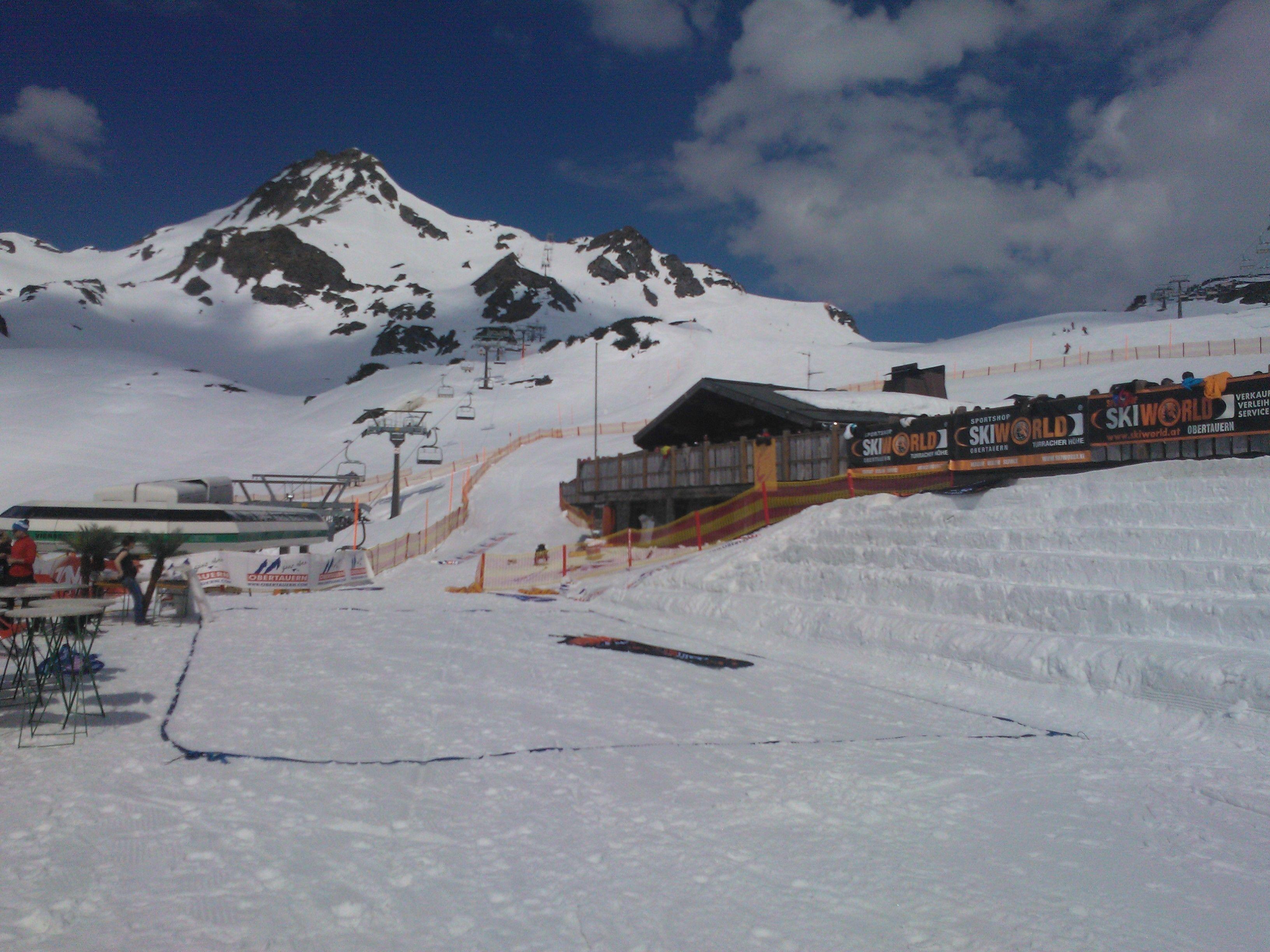 snowvolley obertauern aufbauen