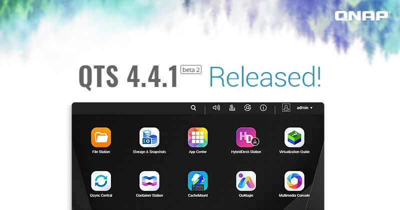 QNAP Releases QTS 4 4 1 Beta 2 Version: Join the Beta