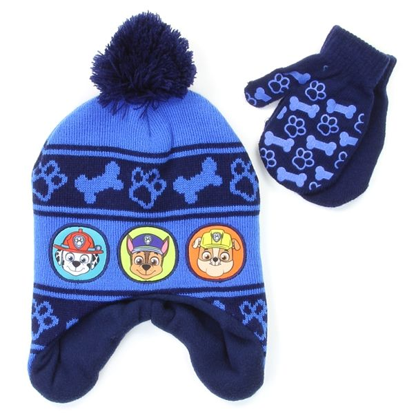 0c01dd4c9 PAW PATROL Boys Winter Hat & Mittens Set (Pack of 6) | PAW PATROL ...