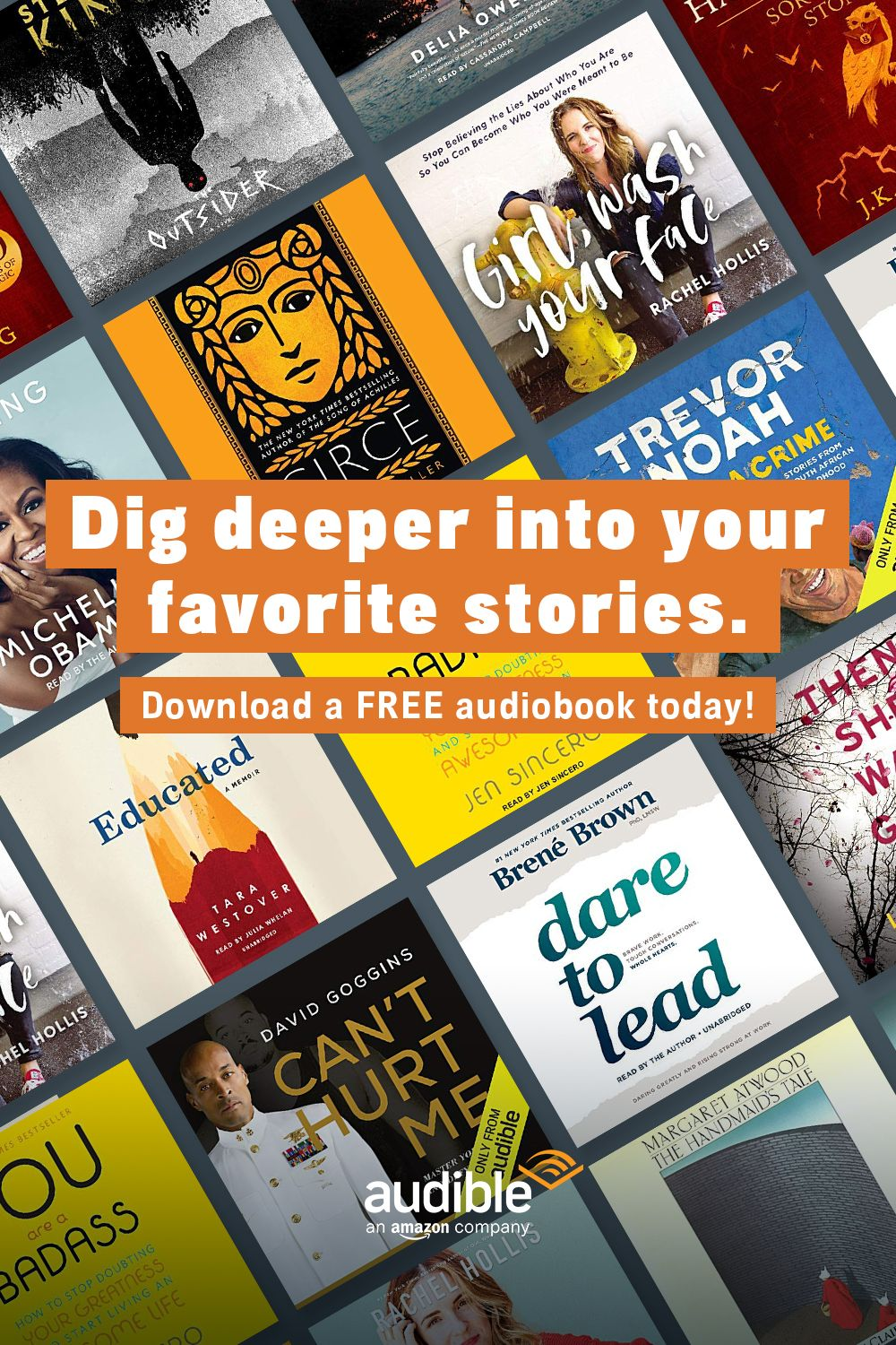 0d9ead7ec7c From self-development to non-fiction and best sellers, Audible has ...