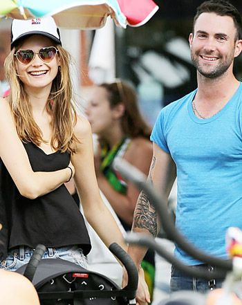 Adam Levine Dating Anne V's Close Pal Behati Prinsloo: New Details!