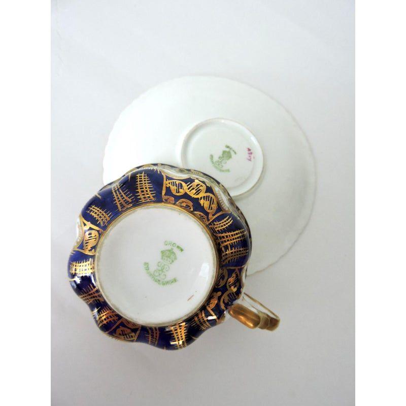 Antique Crown Staffordshire Tea Cup Saucer Set 807 Tea Cup Saucer Cup And Saucer Set Tea Cups