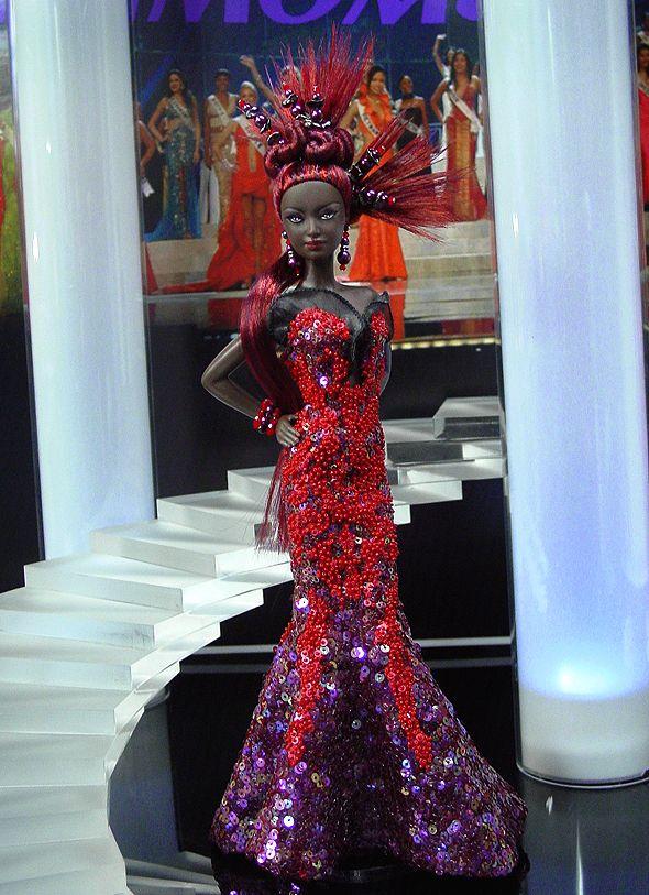 OOAK Barbie NiniMomo's Miss Senegal 2011