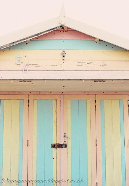 Pastel Beach Hut Pink