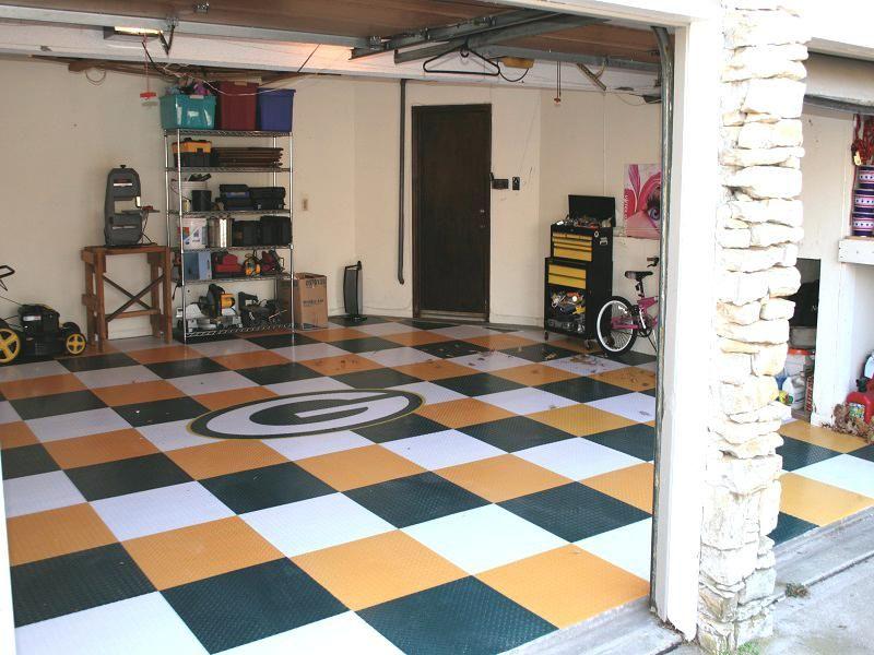 27 Awesome Garage Flooring Designs The Handy Guy Floor Design