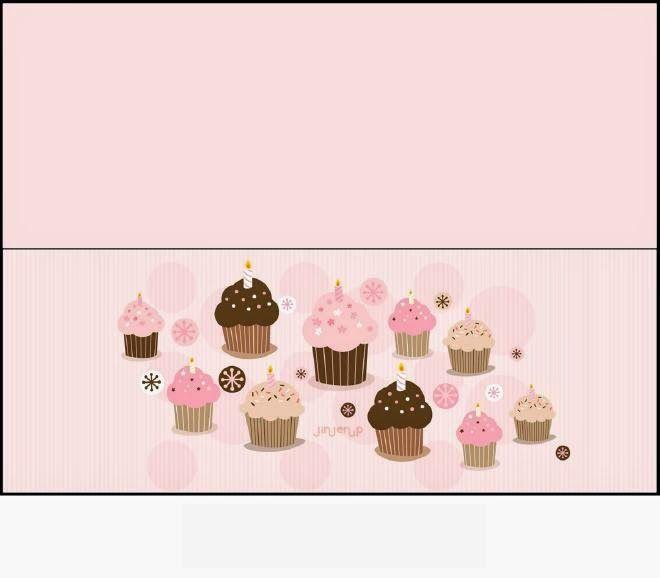 Cupcakes Theme Free Printable Candy Bag Label Scrapbook Printables Free Free Printables Candy Bags