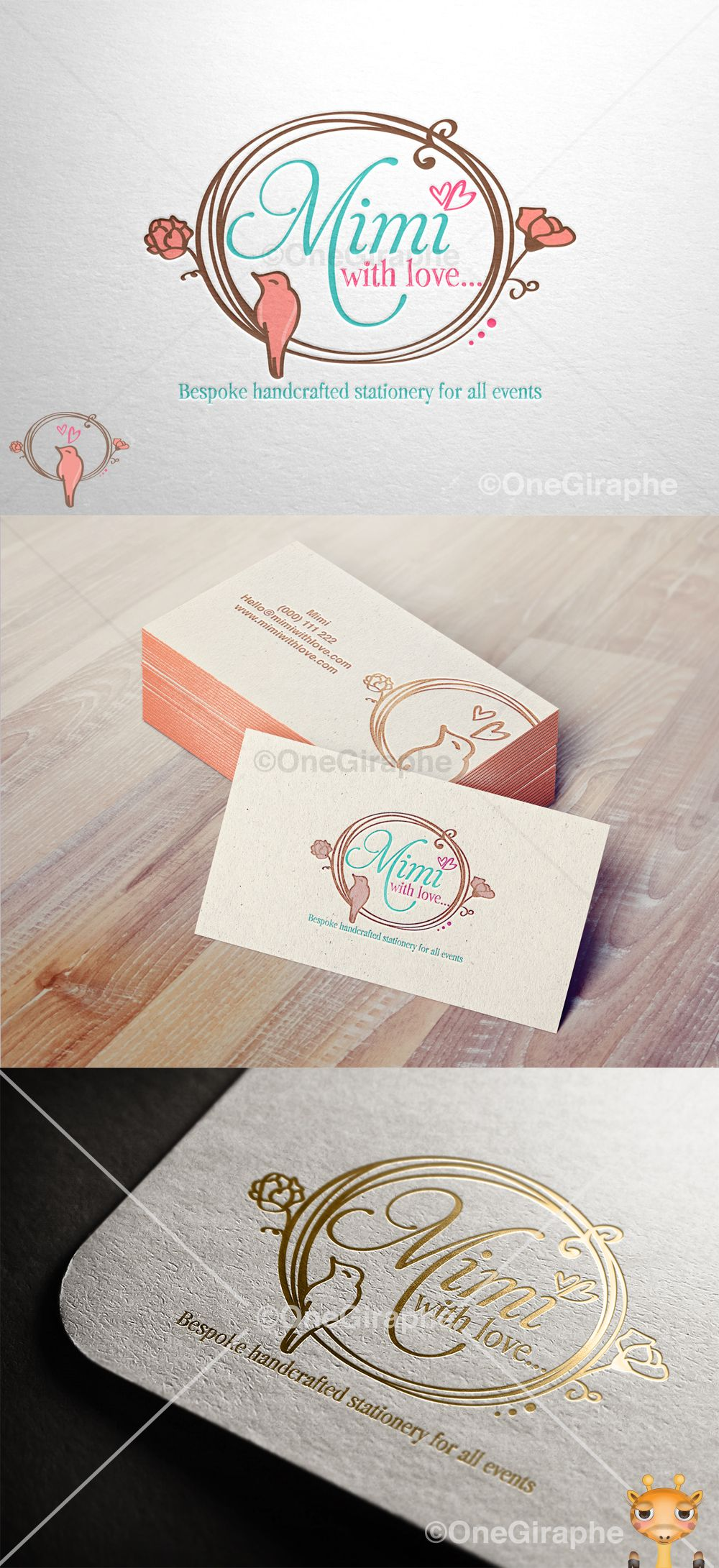 www.One-Giraphe.com #mom #bird #logo #logodesign #cute #graphic #design #designer #portfolio #behance #logopond #brandstack #sweet #logodesign #designer #brand #brandidentity #brandstack #logo #logodesign #graphicdesign #logopond #behance #craft #paper #letterpress #pattern  #badge #portfolio #flowers