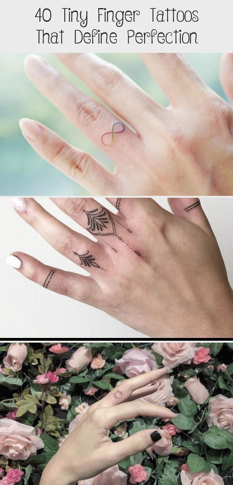 40 tiny finger tattoos that define perfection art 40