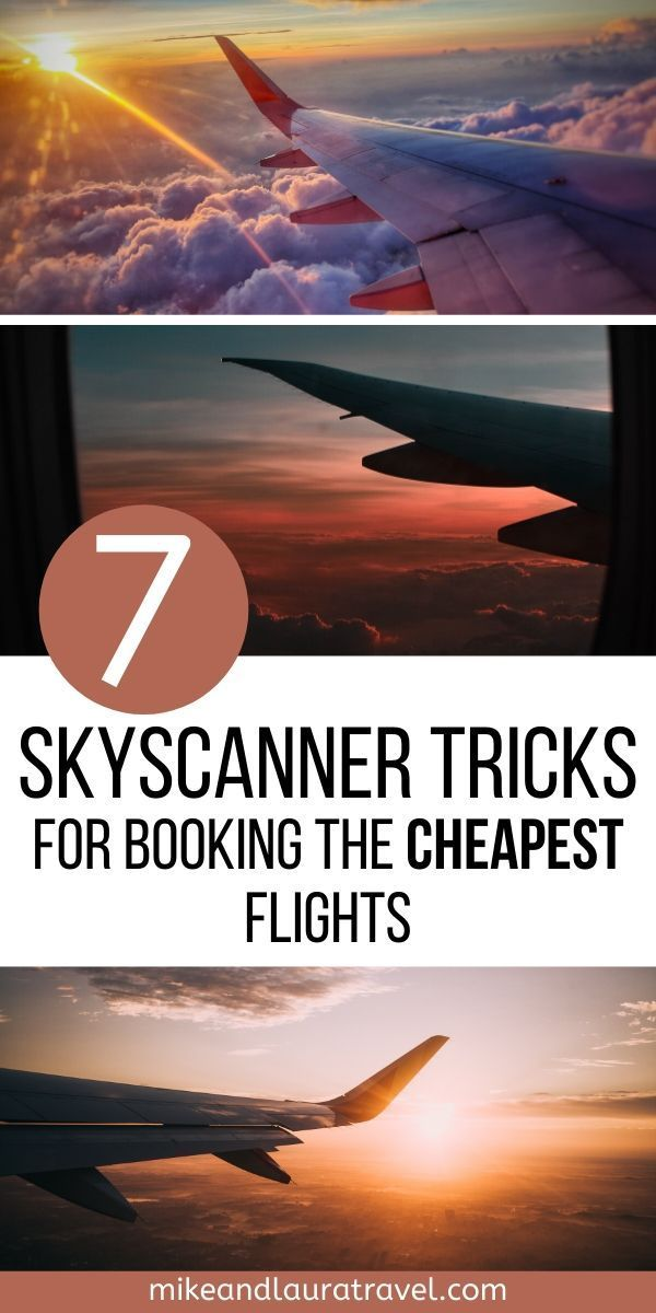 Travel on a budget with these 7 Skyscanner tricks. Save money by using the best tips and hacks for budget travel around the world.  #skyscannertricks #cheaptickets