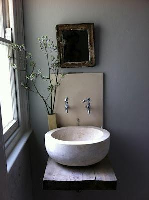 lavabos originales rusticos