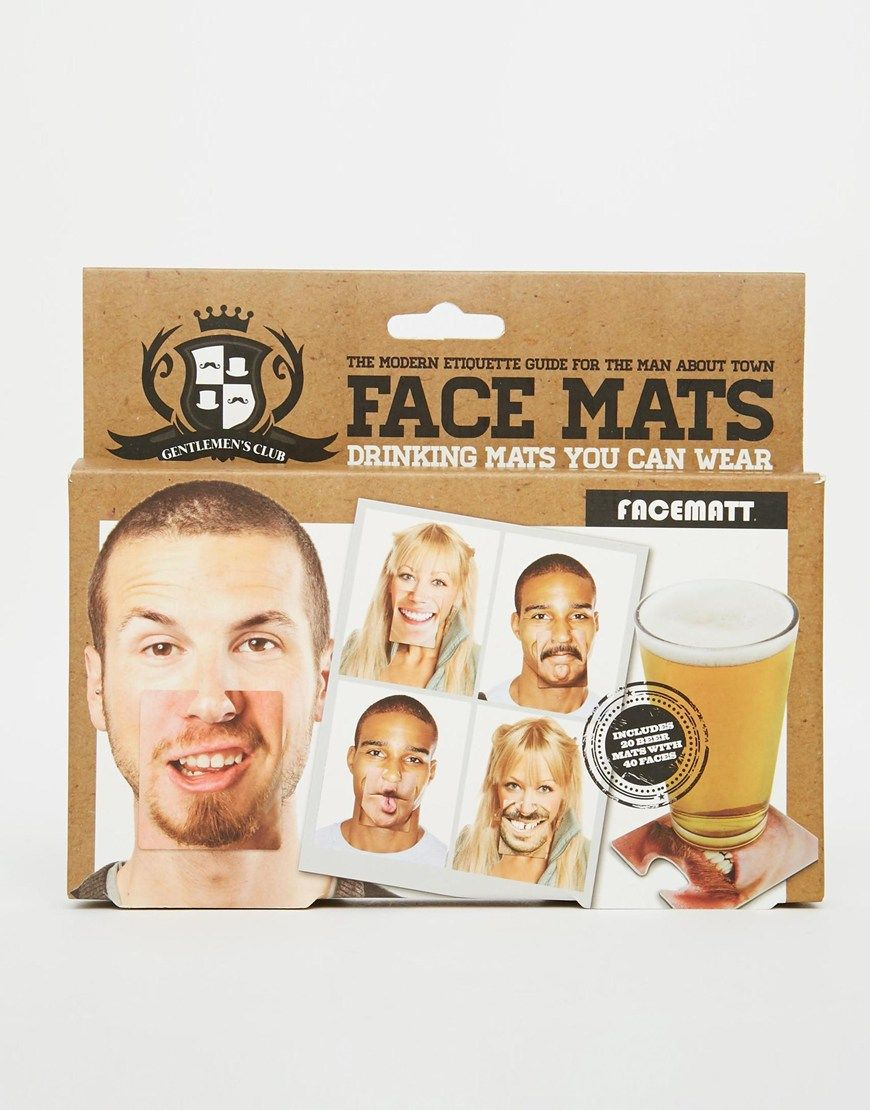 Face Mats Beer Mats Set Of 20 Double Sided Each Side Has A Different Face Photo Clip To Your Nose Beer Mats Face Beer