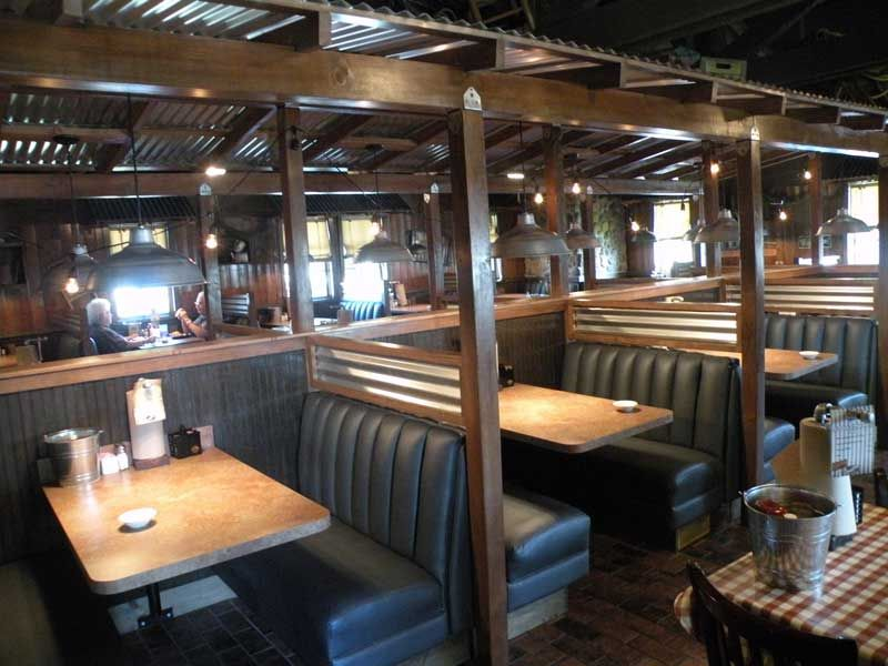 Booths Hefty 39 S Pinterest Metal Roof Dining Booth And Corrugated Metal