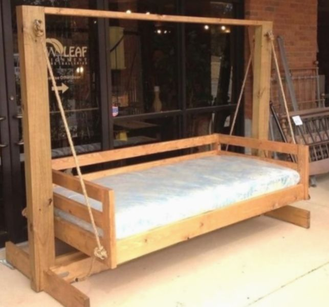 How To Make A Garden Swing Seat Support Frame Wooden Swing Set