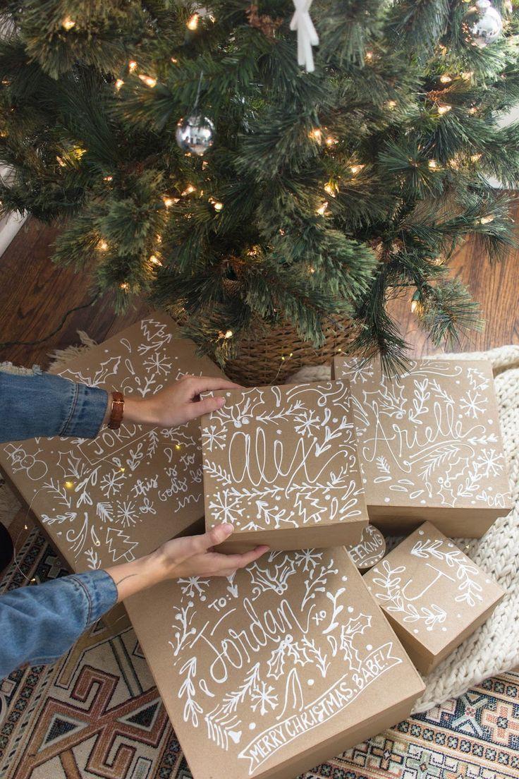 Photo of Geschenke schön verpacken mit Kraftpapier | MrsBerry Kreativ-Studio