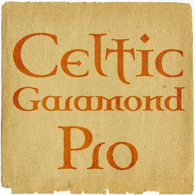 celtic garamond pro