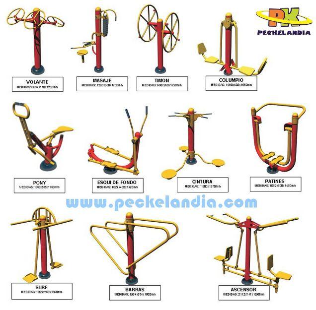 for Maquinas de ejercicios