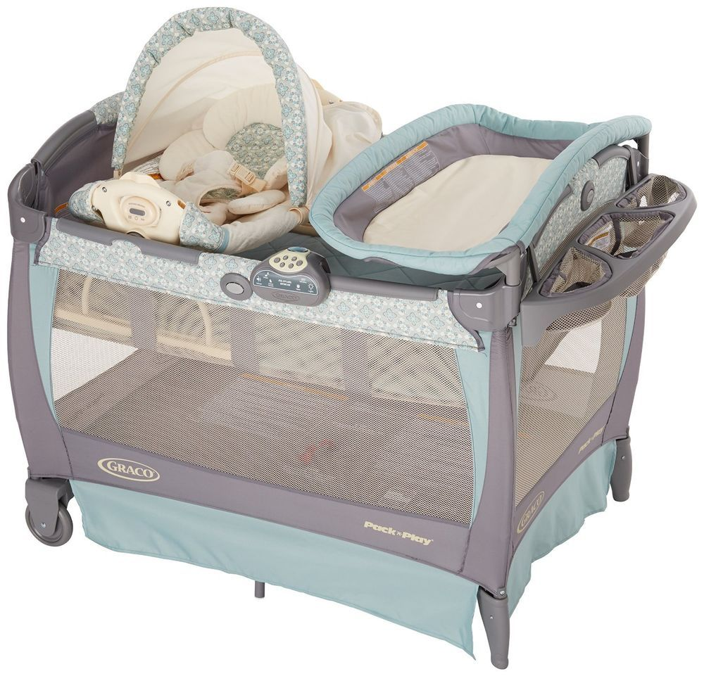 graco with baby stages crib cribs bassinet travel lite peyton