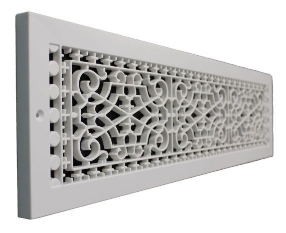Victorian 6 X 30 Base Board Grille Vent Etsy In 2021 Decorative Vent Cover Cold Air Return Air Return
