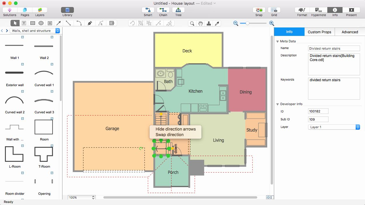 30 Visio Floor Plan Template in 2020 Floor plans