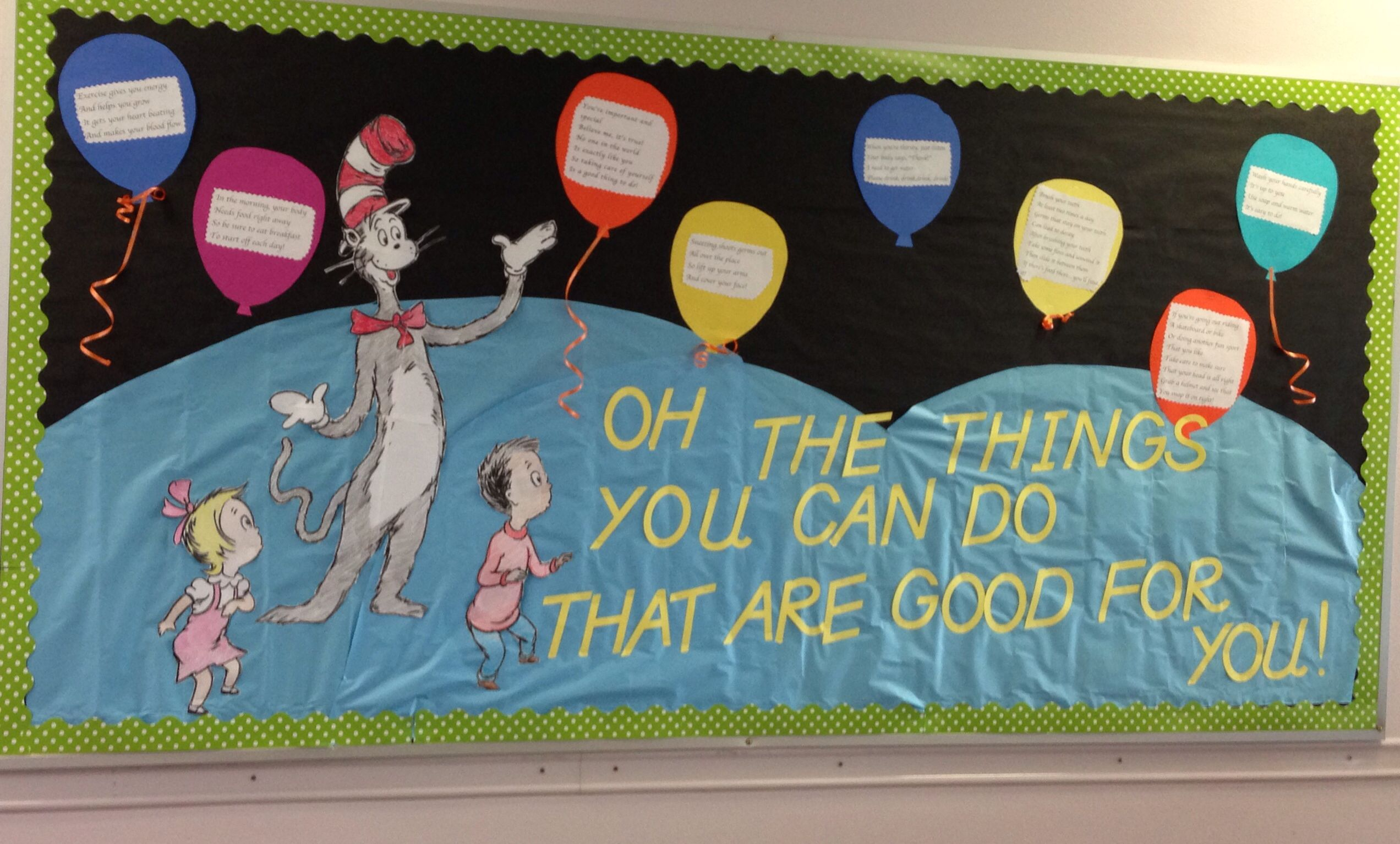 A Health Bulletin Board For Red Ribbon Weeks Theme A