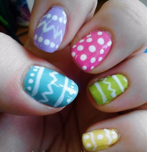 15 Easter Egg Nail Art Designs Ideas Trends Stickers 2015 2g 500