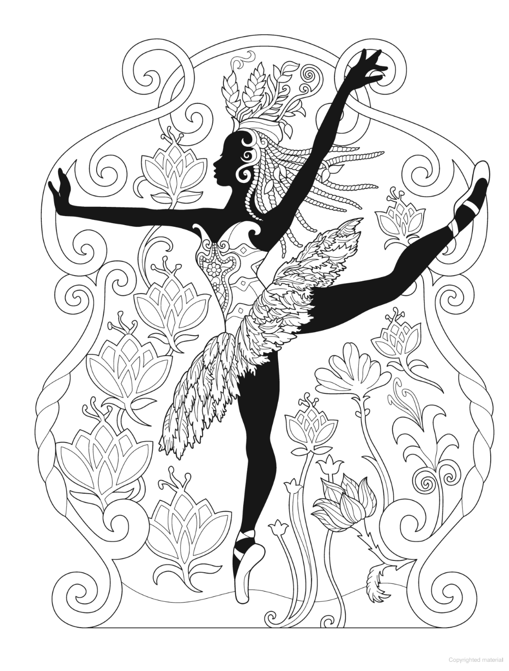 Creative Haven African Glamour Coloring Book Dance Coloring Pages Coloring Books Coloring Pages