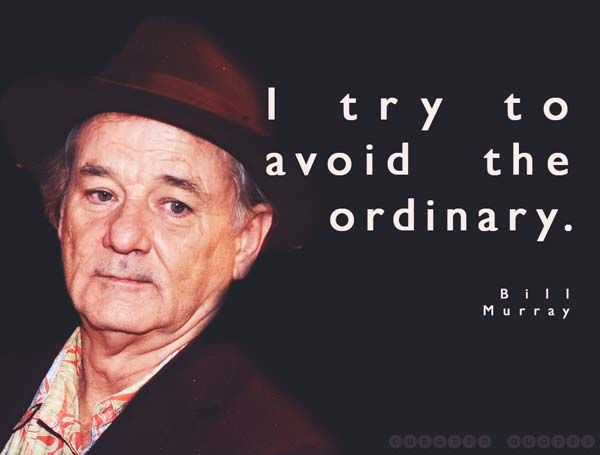 The 47 Best Bill Murray Quotes Words Bill Murray Quote Of The