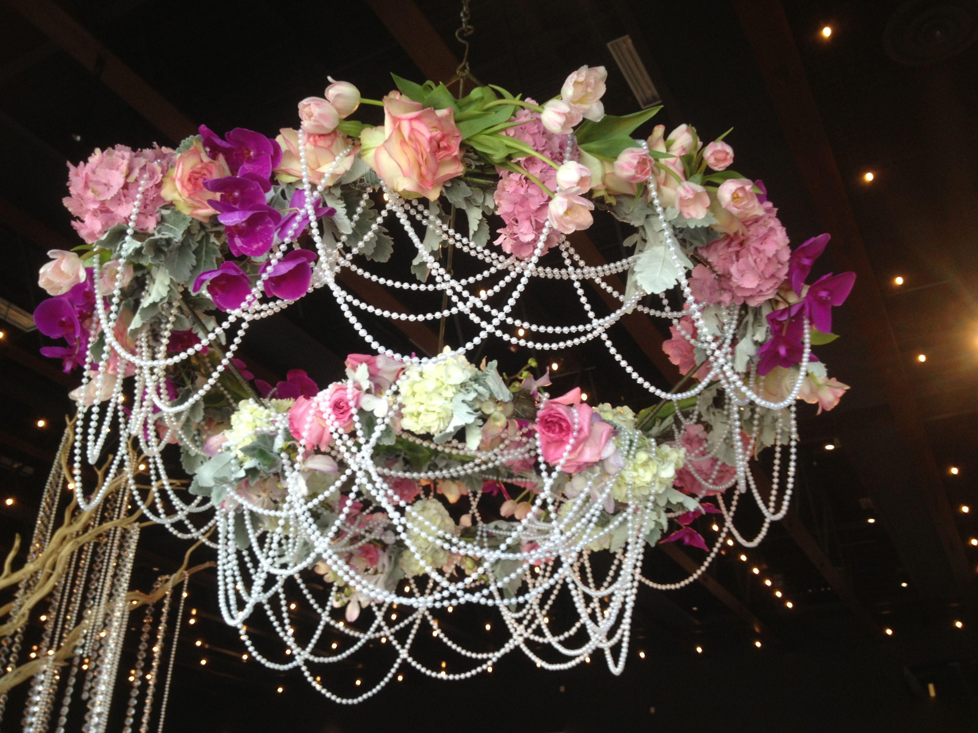 Kronleuchter Floral ~ Vintage floral chandelier floral chandelier pinterest