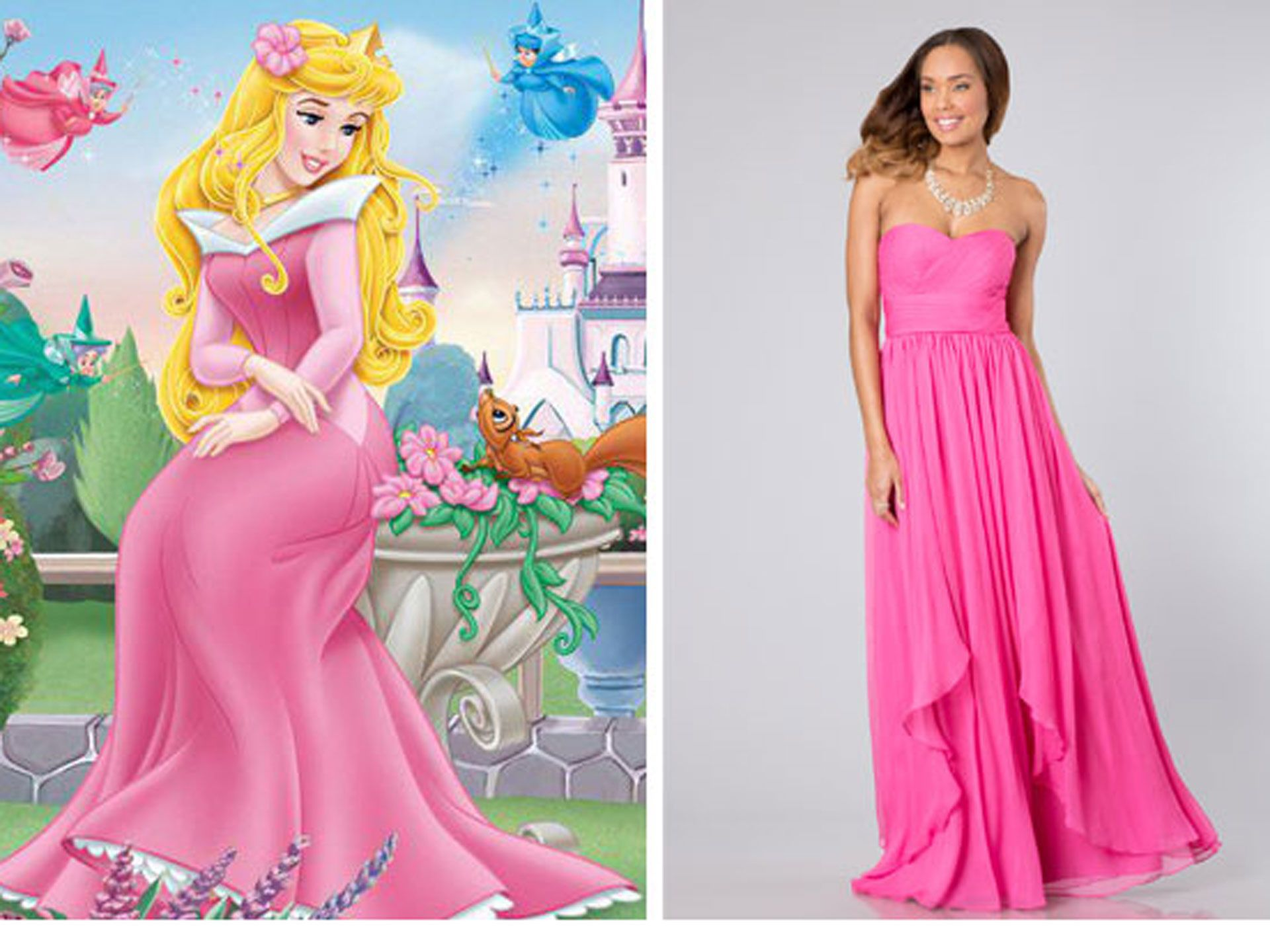 6 Prom Dresses Inspired by Disney Princesses | Vestiditos
