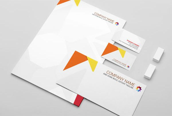 Brand Identity Pack - this is a great basic format to follow - psd letterhead template
