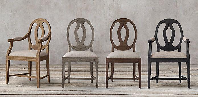 Gustavian Medallion Collection | RH & Gustavian Medallion Collection | RH | MA living/dining | Pinterest ...