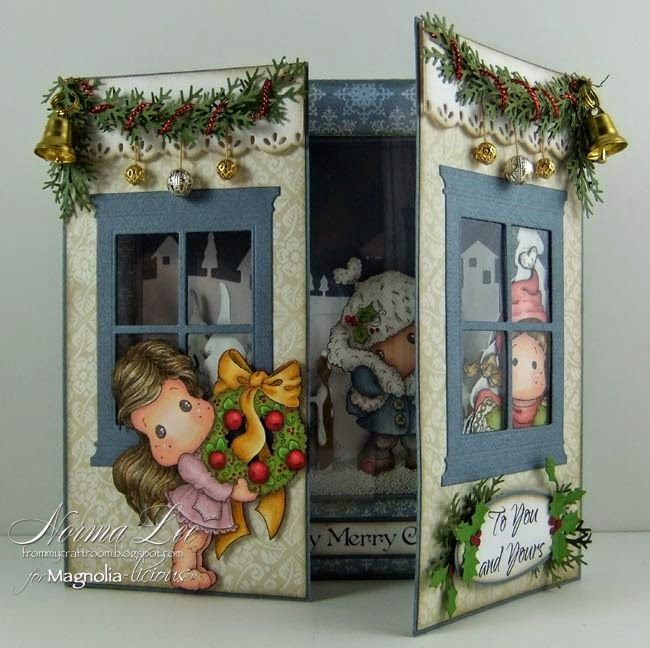 From My Craft Room: Baby, It's Cold Outside! - Magnolia-licious 'Anything Goes'.  This card is AMAZING!!!