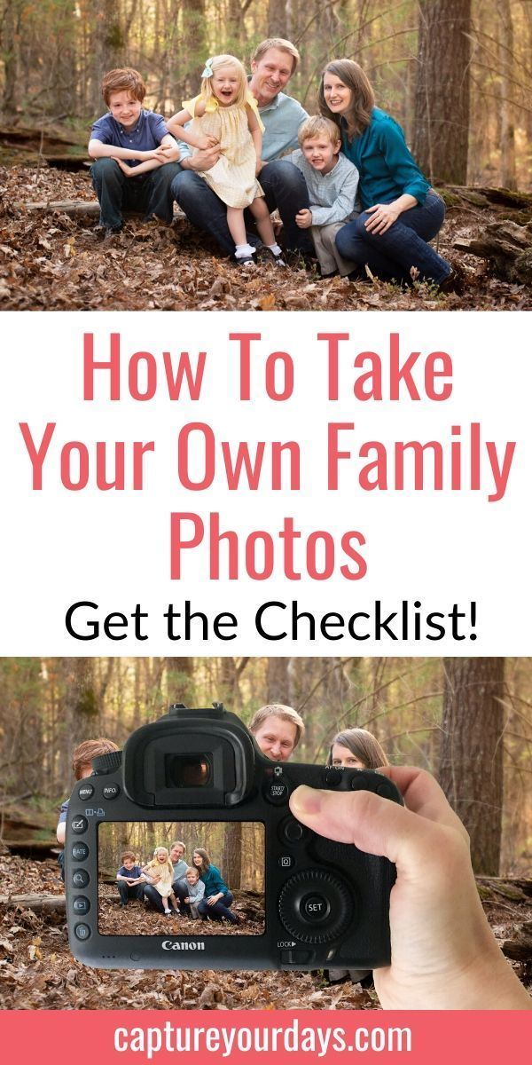 Your Ultimate Guide to a DIY Family Photoshoot Would you like to take family photos yourself?  Here