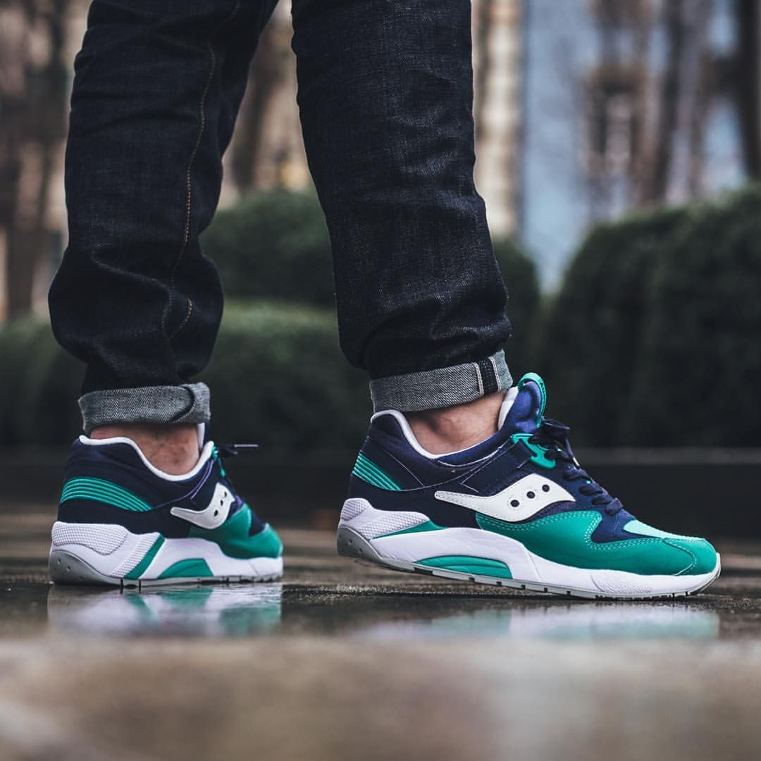 saucony grid 9000 outfit