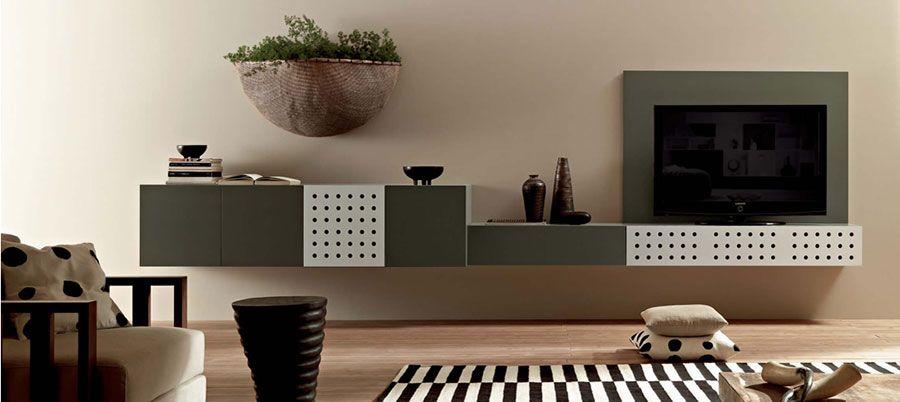 Pareti Attrezzate Moderne: 70 Idee di Design per Arredare Casa | Tv ...