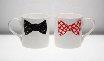 bow tie mugs