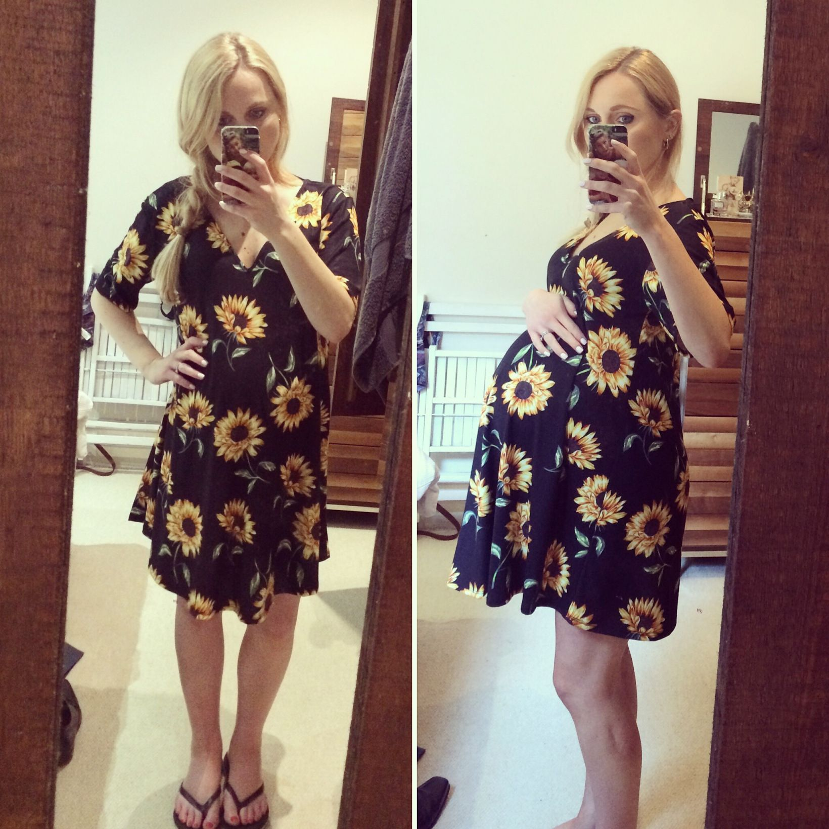 34 weeks pregnant belly / ASOS maternity wear / Mother