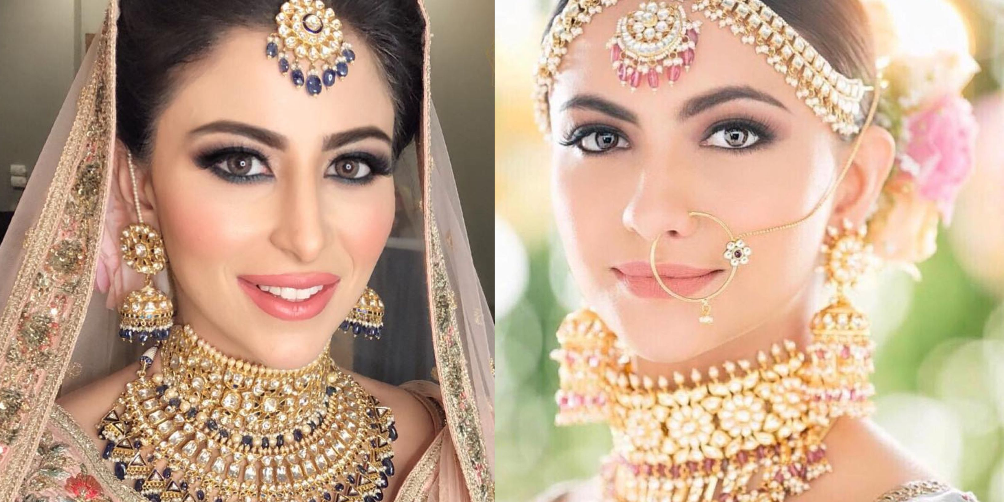 Bridal makeup heavy makeup for indian brides in 2020