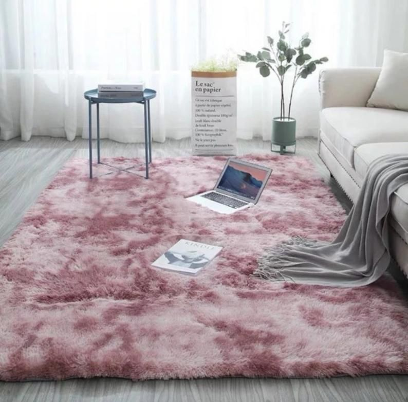 Plush Soft Carpet Faux Fur Area Rug Non Slip Floor Mats Etsy In 2020 Rugs In Living Room Soft Carpet Living Room Carpet #soft #area #rugs #for #living #room