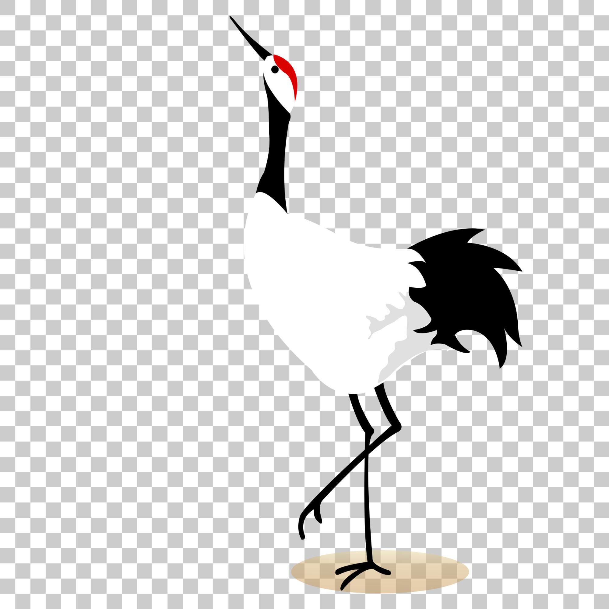 Crane Stork Bird Png Image With Transparent Background Stork Bird Png Images Bird