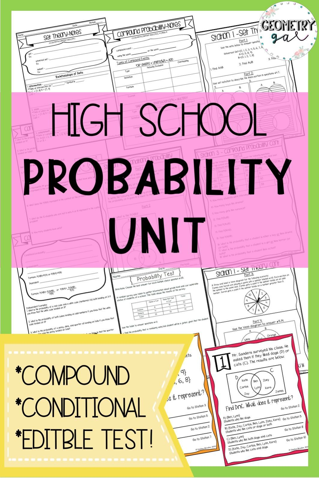 Probability Unit Bundle