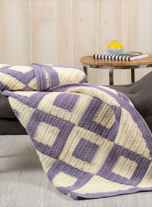 Free Pattern Introduce Charm To Your Bedroom With This Easy Two