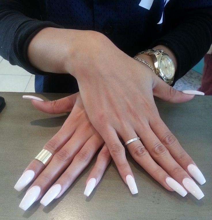 Shorthairedgem coffin nails pinterest nail nail for Acrylic toenails salon