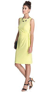 Stretch Jersey Kleid | Kleider damen, Damenkleider, Kleider